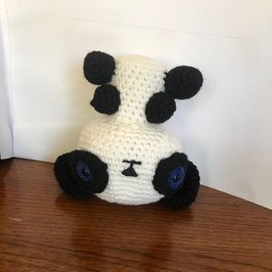 """Crocheted stuffed toy home made 5.5"""" tall"""